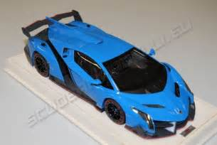 Lamborghini Veneno Blue Mr Collection 2013 Lamborghini Lamborghini Veneno