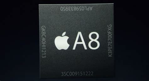 apple a8 apple s a8 soc analyzed the iphone 6 chip is a 2 billion