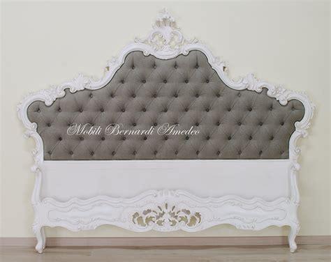 letti matrimoniali stile barocco letto barocco laccato letti