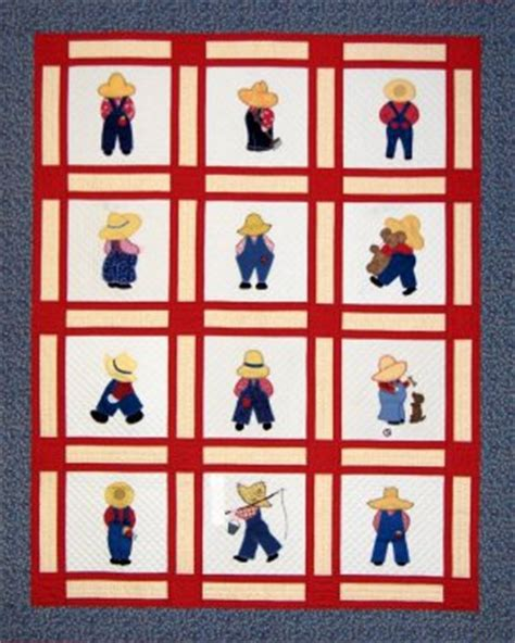 Overall Bill Quilt Pattern by Overall Boys Spiral Bound Book All Your Favorite