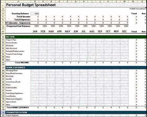 finance planner template 8 monthly financial planner template template update234