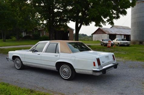 old car owners manuals 1986 ford ltd seat position control ford crown victoria sedan 1986 oxford white for sale 2fabp43f8gx122344 original unrestored 1986