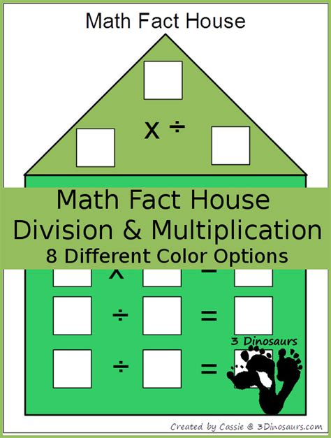 math facts for minecrafters multiplication and division books free math fact house for multiplication and division
