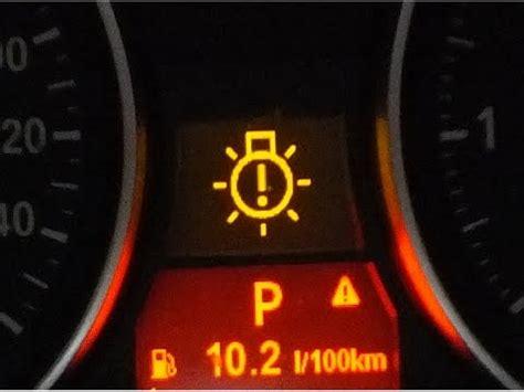 bmw brake warning light 3 series dashboard warning lights meaning