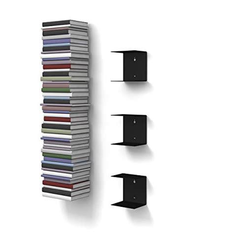 mensole invisibili home3000 3 mensole libreria invisibili colore nero