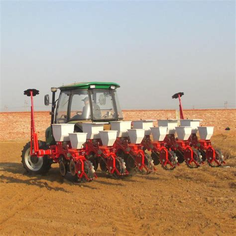 Mechanical Seed Planter by 4 Rows Mechanical Precision Corn Seed Planting Machine