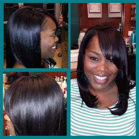 sew in with leave out full head sew in with very minimal leave out for natural