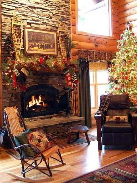60 elegant christmas country living room decor ideas family holiday net guide to family