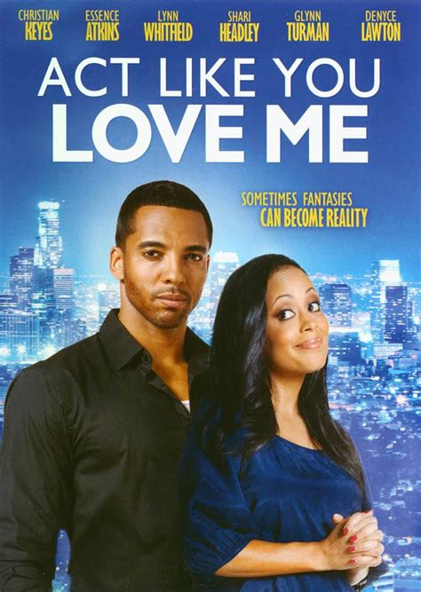 film love me do act like you love me on dvd movie