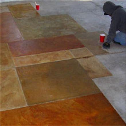 home dzine how to paint concrete floors