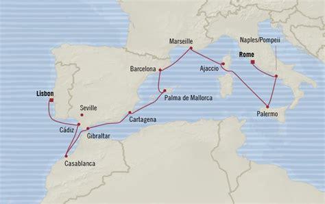 oceania cruises  days  lisbon portugal  rome civitavecchia italy