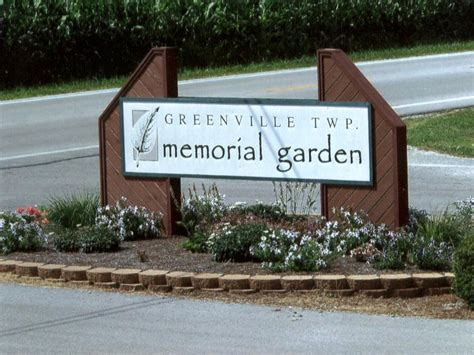 Greenville Memorial Gardens by Township Of Greenville Darke County Ohio