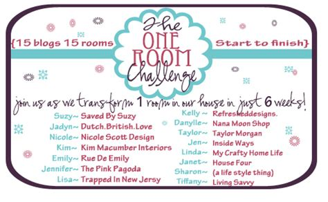 a lifestyle thing the one room challenge