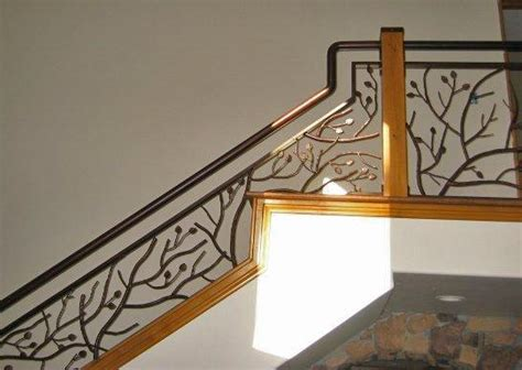 Metal Stair Rails And Banisters Rustic Stair Railing Branch Porch Railing Rustic Cabin