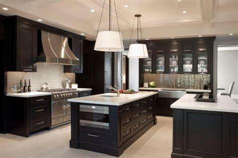 dark kitchen cabinets with dark floors 16 dramatic dark kitchen design ideas white bench white