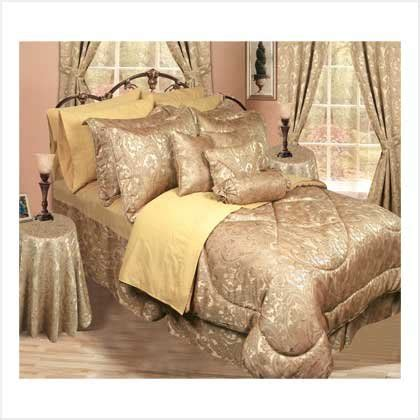 30 piece comforter set 30 piece bedding set gold
