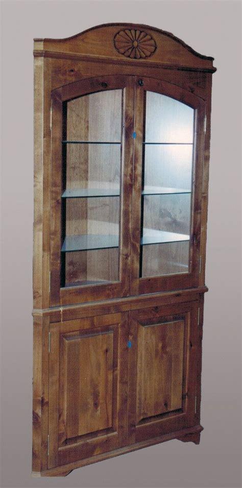 Corner Curio Shelf by Corner Curio Cabinet