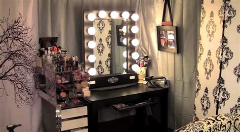 black vanity set with lights vanity tables with style homesfeed