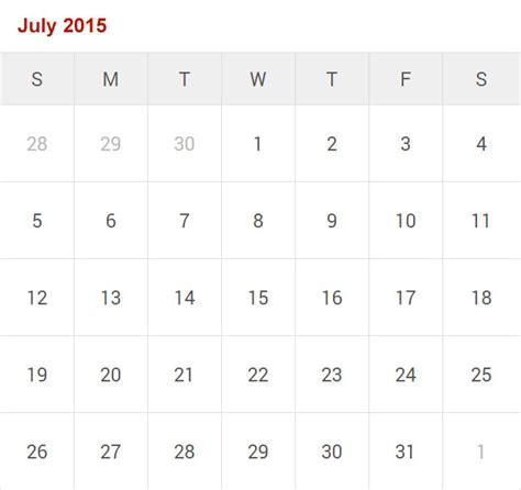 Printable Calendar July 2015 July 2015 Printable Calendar Www Imgkid The Image
