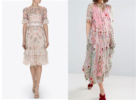 H Dres the h m embroidered dress that keeps selling out