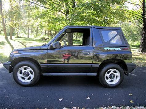 chevy tracker 1995 sell used no reserve 1995 chevrolet geo tracker with 4x4