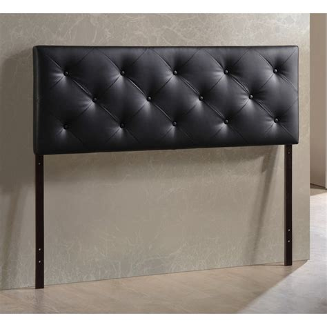 leather upholstered headboards bedford queen faux leather upholstered headboard bbt6431