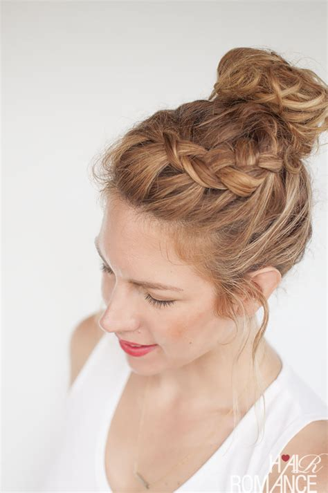 knot hair styles latest trends top knot hairstyles fashion for all hair types