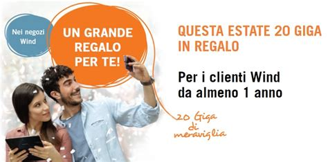 offerta wind mobile offerte wind mobile 20 gb in regalo come
