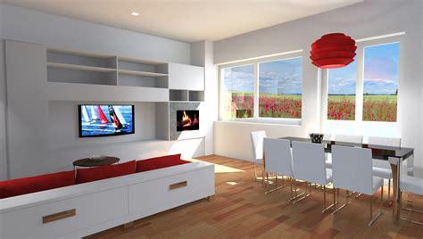 pareti attrezzate con camino esempi di progetti 3d di arredare architettiamo progetti