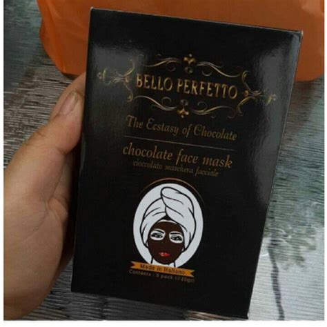 Masker Bello Perfetto jual bello perfetto chocolate mask mars beautycare shop