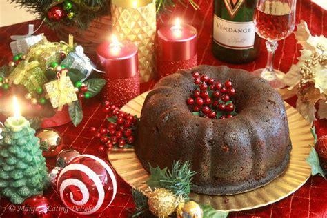 Manju's Eating Delights: Traditional Christmas Fruit Cake