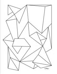 geometric coloring books geometricr and s colouring pages