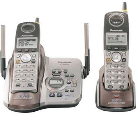 panasonic kx tg5436m 5 8 ghz digital cordless telephones with answering machine 1 phone lines