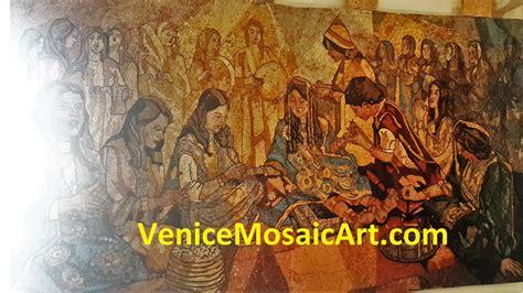 Mosaic Wall Murals custom marble mosaic amp tile art factory venice mosaic art
