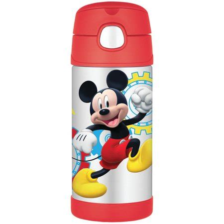 Termos Mickey by Thermos Funtainer 12 Ounce Bottle Mickey Mouse Walmart