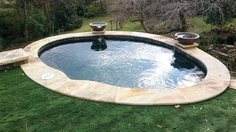 small pools and spas small backyard how about a spool it s a combo pool and