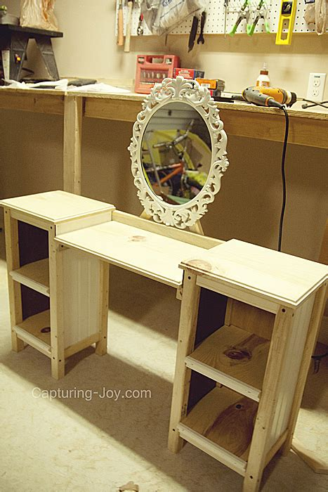 Makeup Vanity Organizer Little Girls Play Vanity Table