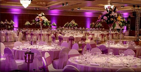 Reception Hall Decoration   {Purple Quinceanera Theme