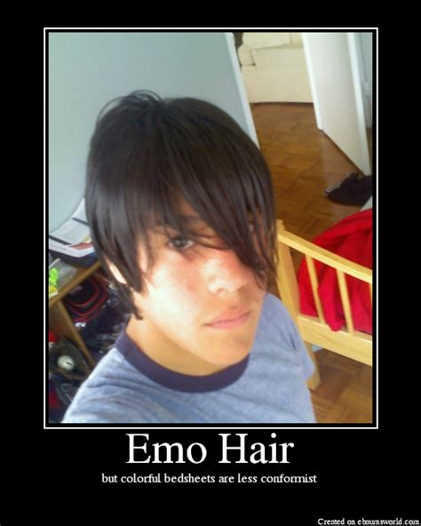 Emo Hair Meme - emo hair picture ebaum s world