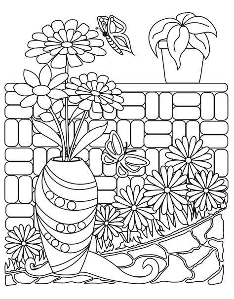 calming coloring book and filled pages for dong engagement relaxation and satisfaction gift for volume 1 books zendoodle coloring big picture calming gardens tish
