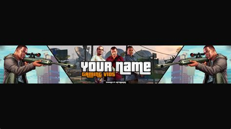 GTA 5 Banner Template and Speed Art   YouTube