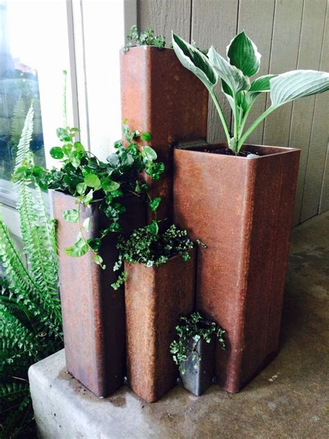 13 best metal planters images on
