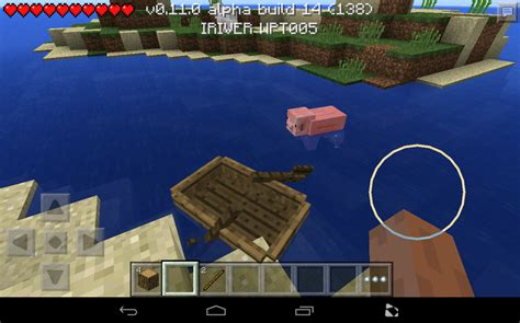 how to build a boat in minecraft pe minecraft pocket edition 0 11 how to make a boat