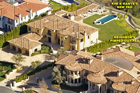Kim Kardashian And Kanye West House Photos Moejackson