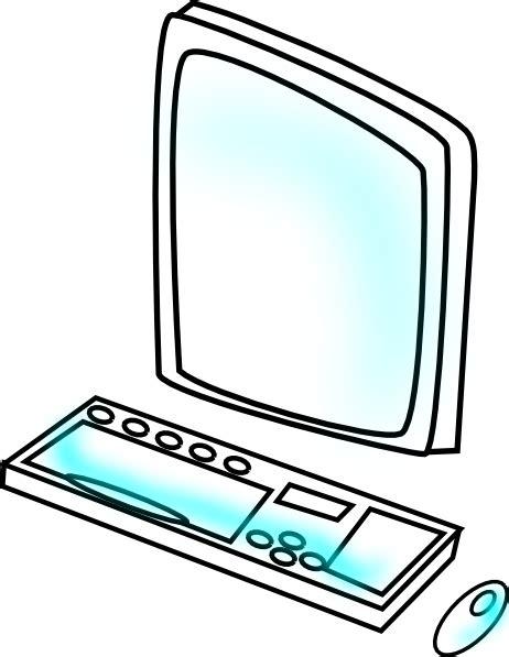clipart computer computer 8 clip at clker vector clip