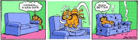 garfield couch big fat hairy deal a trip through the garfield archives