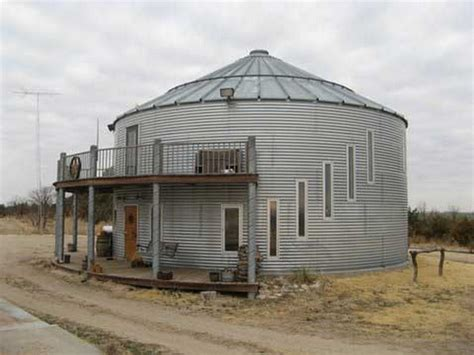 unloved grain silos converted into homes house