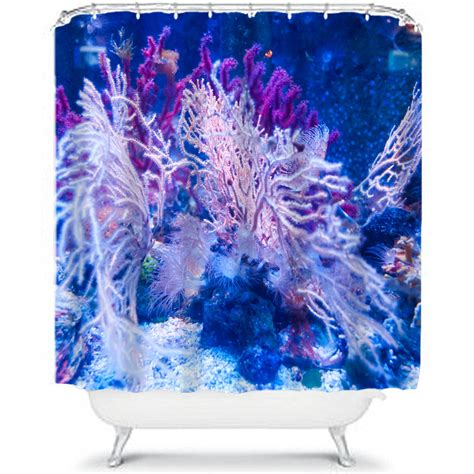under the sea shower curtain coral under the sea shower curtain by ruby and b