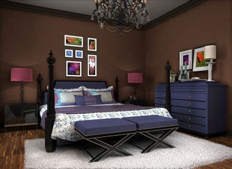 purple and brown bedroom bedroom purple furniture with brown wallpaper new home