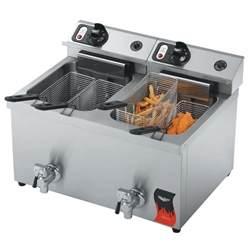 commercial fryer vollrath 40710 30 lb commercial countertop fryer